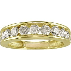 Miadora 14k Gold 1ct TDW Diamond Band