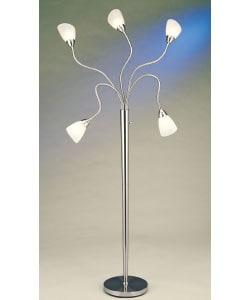 spider arm floor lamp 952395 shopping great deals. Black Bedroom Furniture Sets. Home Design Ideas
