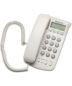 Panasonic KX-TSC7 Corded Phone with Caller ID (Refurbished)