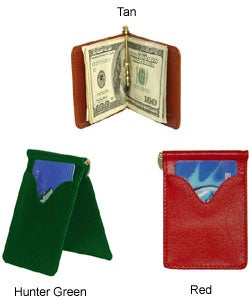 Amerileather Leather Money Clip