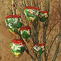 Set of 6 'Heart of The Forest' Ornaments (India)