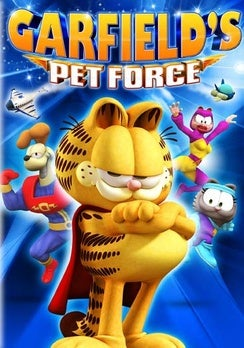 Garfield's Pet Force movies in Italy