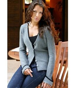 I LEVRIERI Luxury Italian Cashmere Cardigan Sweater