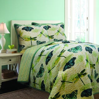 Papillion Quilt and Sham Separates