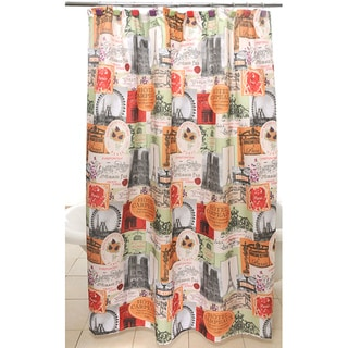 Paris Cafe Shower Curtain