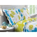Coastal Breeze Quilted Pillow Sham Set