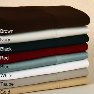 Egyptian Cotton 410 Thread Count Sateen Pillowcases (Set of 2)
