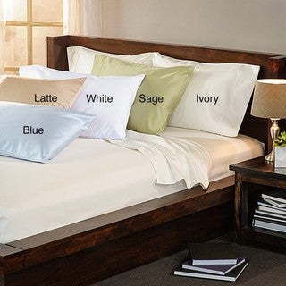 Luxury Estate 100-percent Cotton 1500 Thread Count King-size Pillowcases (Set of 2)