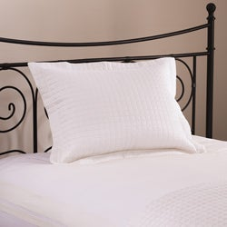 Roxbury Park Quilted King Size White Sham
