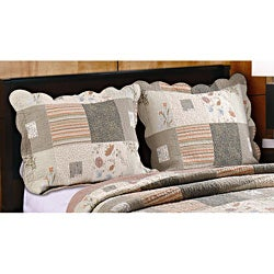 Sedona Quilted Pillow Shams, Set of Two Shams