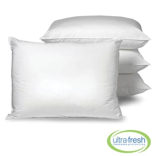Swiss Lux Allergy Free Anti-microbial Pillows with Ultra Fresh (Set of 4)