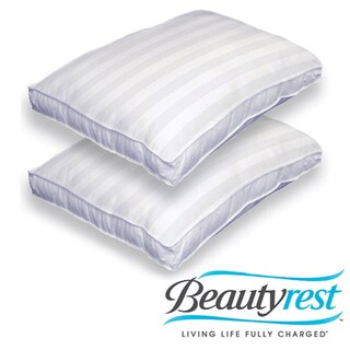 Beautyrest 500 Thread Count Mosaic Firm Bed Pillows (Set of 2)