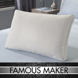 Famous Maker 300 Thread Count Luxury White Down Pillow