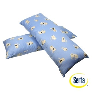 Serta Counting Sheep Body Pillow (Set of 2)