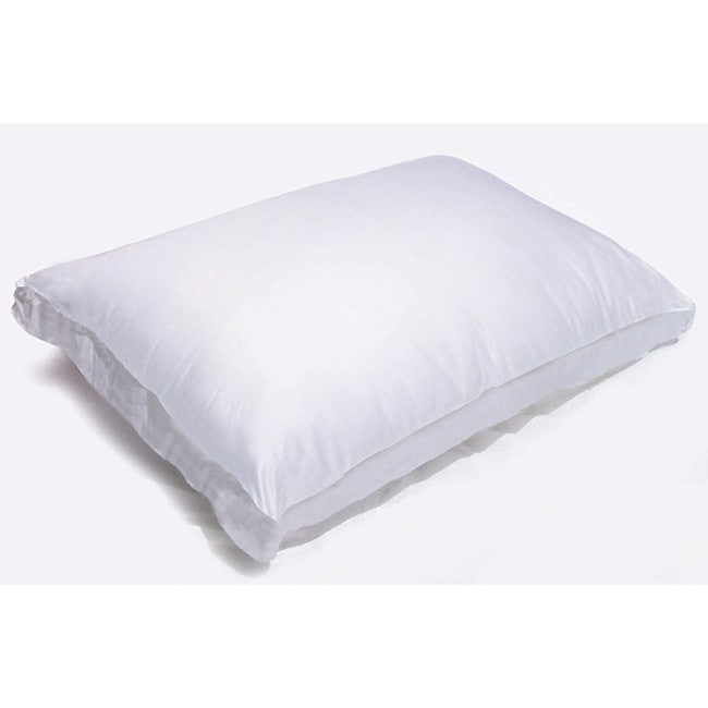 AT HOME by O Splendorest Memory Fiber 300 Thread Count Cotton Side Sleeper Pillow at Sears.com