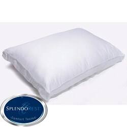 Splendorest Memory Fiber 300 Thread Count Cotton Side Sleeper Pillow