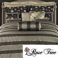 Rose Tree Plaza 4-piece Comforter Set
