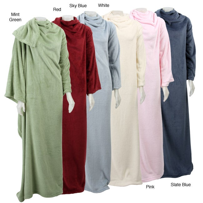 Plush Wearable Blanket (Set of 2)