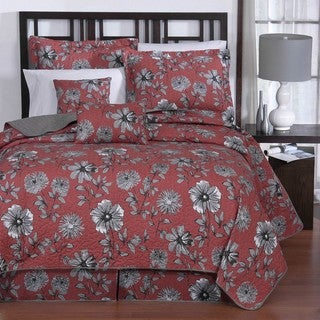 Cassie 6-piece King-size Quilt Set