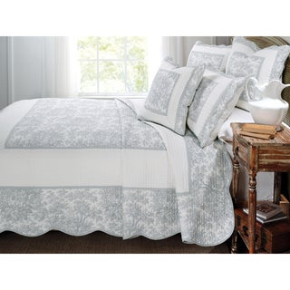 French Cottage 3-piece Quilt Set