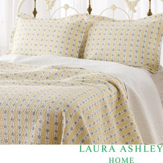 Laura Ashley Primrose Hill 3-piece Quilt Set