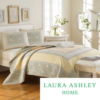Laura Ashley Sheffield 3-piece Quilt Set