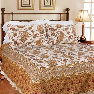 Renaissance King-size 3-piece Quilt Set