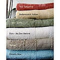 Rayon From Bamboo Solid Bath Towel Set (Set of 3)