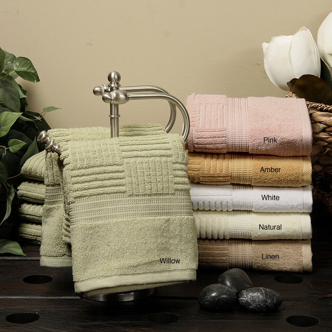 Ringspun Cotton Hand Towels (set of 6)