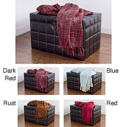 Rizzy Home Loose Weave Throw