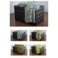 Rizzy Home Machine-Washable Thick Weave Acrylic Throw