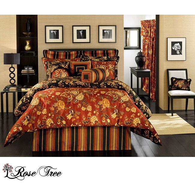 Rose Tree Carlton Full-size 4-piece Comforter Set