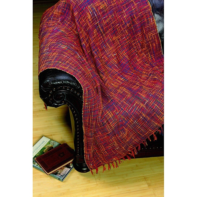 Royal Fiesta Woven Throw