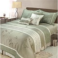 Sansai 7-piece King-size Comforter Set