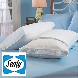 Sealy Cotton 300 Thread Count 3-inch Gusset Pillow Protectors (Set of 2)