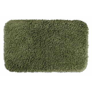 Serenity Plush Forest Green 24 x 40 Bath Rug