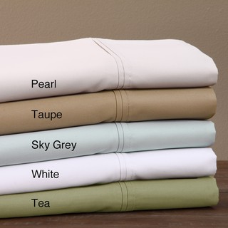 600 Thread Count Sateen Supima Cotton Sheet Set