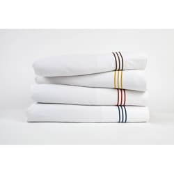 Baratto Piping Bamboo/Polyester Sheet Set (Queen Size)