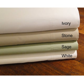 Cotton Sateen 600 Thread Count Queen-size Sheet Set