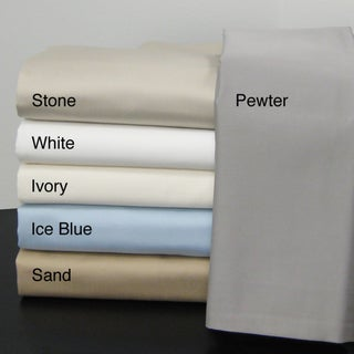 100 Percent Egyptian Cotton 800 Thread Count Sateen Weave Luxury Sheet Set