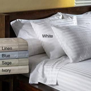 Grace Home Fashions 600 Thread Count CottonBlend Sateen 6-piece Sheet Set