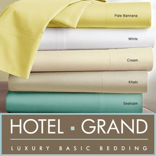 Hotel Grand Oversized 1100 Thread Count Sateen Sheet Set
