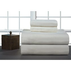 Ivory Heavyweight Flannel Sheet Set