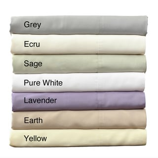 King and Cal King-size 250 Thread Count 100-percent Rayon from Bamboo Bed Sheet Set