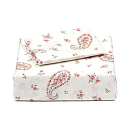 Laura Ashley Bristol Paisley King 4-Piece Sheet Set