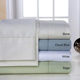 Pima Cotton 800 Thread Count Hemstitch Deep Pocket Sheet Set