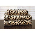 Pointehaven Cheetah Print Flannel Sheet Set
