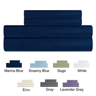 Rayon from Bamboo Queen-size Sheet Set