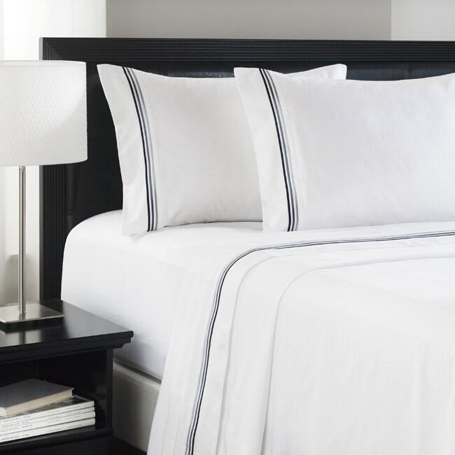 Roxbury Park Admiralty Stripe Baratto Sheet Set or Pillowcase Seperates