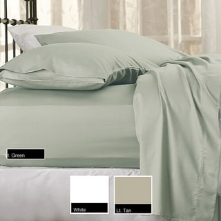 Sealy Cotton Sateen 300 Thread Count Sheet Set